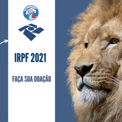 IRPF 2021  FAÇA SUA DOAÇÃO
